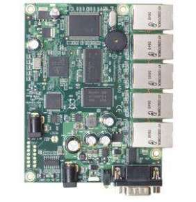 MikroTik RB450 32 MB RAM, 300 MHz, 5x Gbit LAN, vč. L5