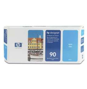 HP No. 90 cyan Printhead and Printhead Cleaner