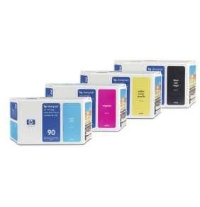 HP No. 90 Yellow Ink Cartridge (400 ml)
