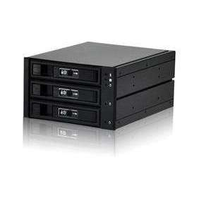 "Jou Jye backplane 3-in-2    3.5"" 3x SATA/SAS HDD do 2x 5,25"" black"