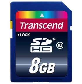 Transcend Pamäťová karta SDHC 8GB Class 10