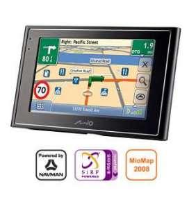 "MIO Moov 360u GPS PNA - mapy EU (MioMap 2008), LCD 4,3"",SIRF2,HDD 2 GB"