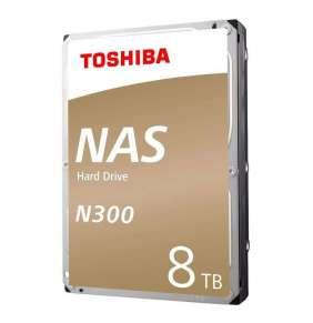 """HDD  TOSHIBA NAS N300 3.5"""", 8TB, 128MB, SATA  6.0 Gbps, 7200 rpm"""