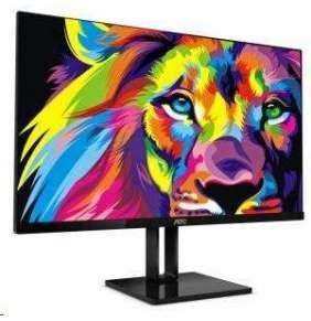 "AOC 24V2Q 23.8""W IPS LED 1920x1080 50 000 000:1 5ms 250cd DP HDMI"