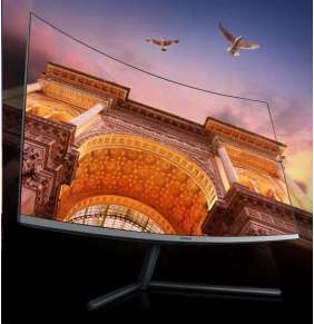"""Samsung MT LCD 32"""" U32R590 - prohnutý, VA, UHD, 3840x2160, HDMI, Display port, 16:9, 4 ms"""