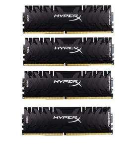 DDR 4....        64GB . 3600MHz. CL17 HyperX Predator Black Kingston XMP (4x16GB)