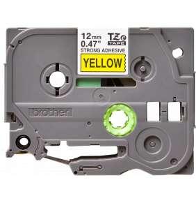 Brother - TZe-S631 žlutá / černá (12mm,lamin.,extr. adhez.)