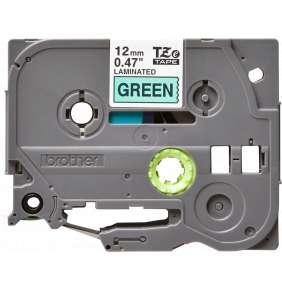 Brother - TZe-731, zelená / černá - 1ks (12mm, lamin.)