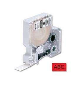 DYMO samolepiaca páska D1 čierna potlač/červená 12 mm