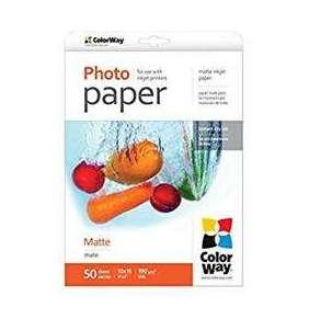 ColorWay Fotopapier  Matný 190g/m,50ks,10×15