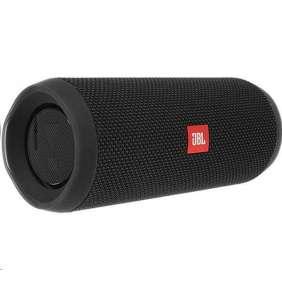 JBL bezdrátový reproduktor Flip 4, 2x8W, BT, vestavěný mikrofon, voděodolný, black