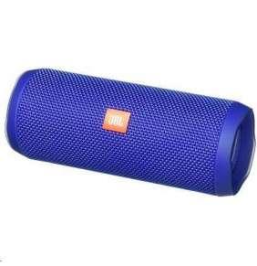 JBL bezdrátový reproduktor Flip 4, 2x8W, BT, vestavěný mikrofon, voděodolný, blue
