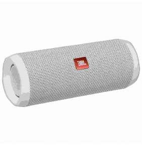 JBL bezdrátový reproduktor Flip 4, 2x8W, BT, vestavěný mikrofon, voděodolný, white