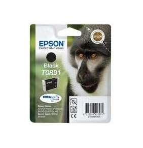 "EPSON ink čer Stylus ""Opice"" S20/SX100/SX200/SX400 (T0891) - black"