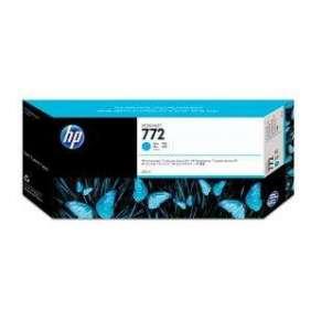 HP 772 Cyan DJ Ink Cart, 300 ml, CN636A