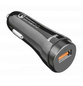 nabíječka TRUST Ultra Fast USB Car with QC3.0