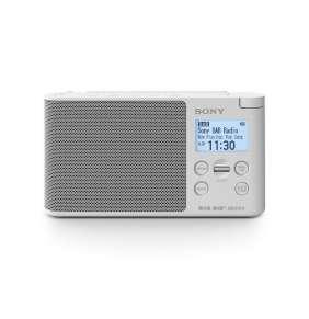 SONY XDR-S41DW Lehké a přenosné DAB/DAB+/FM rádio White