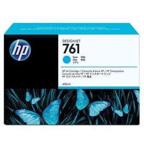 HP 761 Cyan DJ Ink Cart, 400 ml, CM994A