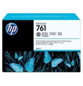 HP 761 Dark Grey DJ Ink Cart, 400 ml, CM996A