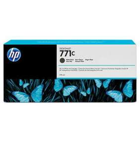 HP 771C Black matte DJ Ink Cart, 775 ml, B6Y07A