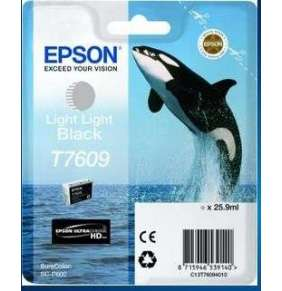 Epson T7609 Ink Cartridge Light Light Black