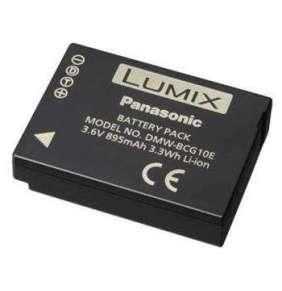 Panasonic DMW-BCG10E accu pro TZ35/30/20/18/10/8/6/7/ZX3/1