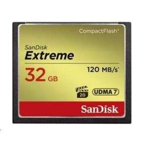 SanDisk Compact Flash 32GB Extreme (R:120/W:85 MB/s) UDMA7
