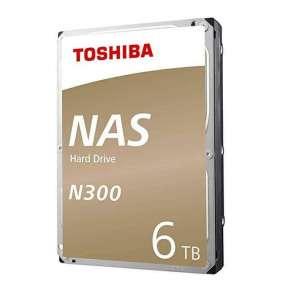 "Toshiba 6TB N300 Bulk  3,5""/SATAIII/7200/128MB"