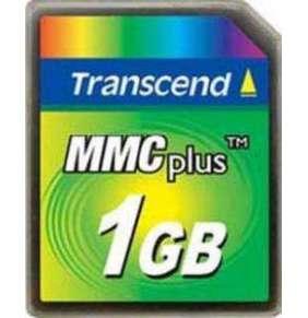 Transcend 1GB High Speed MMC  multimedia memory card
