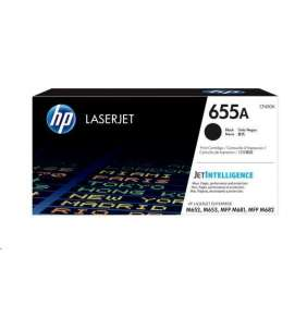 HP 655A Black Original LaserJet Toner Cartridge (CF450A)