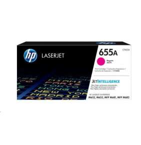 HP 655A purpurová LaserJet Cartridge, CF453A