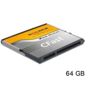 Delock SATA 6 Gb/s CFast Flash Card 32 GB