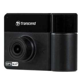 Transcend DrivePro 550 duální autokamera, Full HD 1080/HD 720, úhel 160°/110°, 64GB microSDXC,GPS/G-Senzor/Wi-Fi, černá