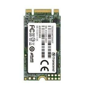 TRANSCEND MTS550T 256GB Industrial SSD disk M.2, 2242 SATA III 6Gb/s (3D TLC), 550MB/s R, 350MB/s W