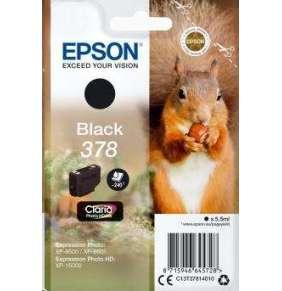 Epson inkoustová náplň/ C13T37814010/ 378 Claria Photo HD/ Expression Photo HD XP-15000/ černá