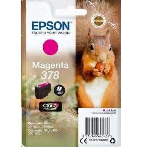Epson inkoustová náplň/ C13T37834010/ 378 Claria Photo HD/ Expression Photo HD XP-15000/ červená