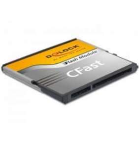 Delock SATA 6 Gb/s CFast Flash Card 8 GB Typ MLC