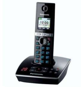 Panasonic KX-TG8061FXB telefon bezsnurovy DECT / čierny