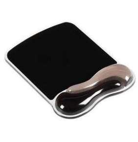 Kensington podložka pod myš Duo Gel Mouse Pad - černo-šedá