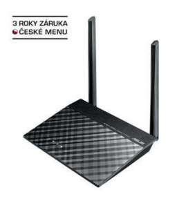ASUS RT-N12K Wireless Router, 802.11n, 1xFastEth WAN, 4xFastEth LAN, 2x exter.detach 5dBi antenna, client mode