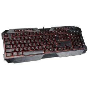 TRACER gaming klávesnice Battle Heroes SQUADRON CZ, multimediální, podsvícená