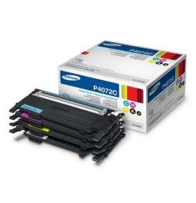 SAMSUNG toner CMYK sada CLT-P4072C pro CLP-320/325/CLX-3185 - 1500/1000 stran