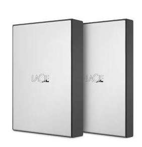 """LaCie ext. HDD 1TB Mobile Drive 2.5"""" USB 3.0 - Silver"""