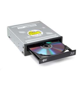 HITACHI LG - interní mechanika BD-Combo/CD-RW/DVD±R/±RW/RAM/M-DISC CH12NS40, Black, bulk+SW