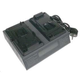 Nabíjecí dvoukanálová souprava PROFI Sony BP-L40, BP-L60, BP-65H, E-70S