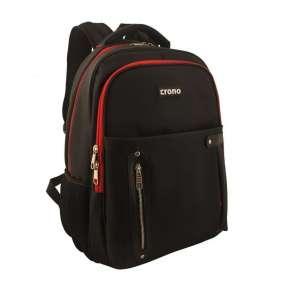 """CRONO Batoh pro notebook Dakota/ 15,6""""/ černý + červený"""