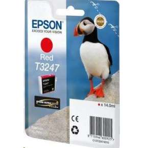 "EPSON ink bar T3247 ""Puffin"" Red pro SC-P400"