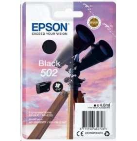 EPSON ink čer Singlepack Black 502 Ink