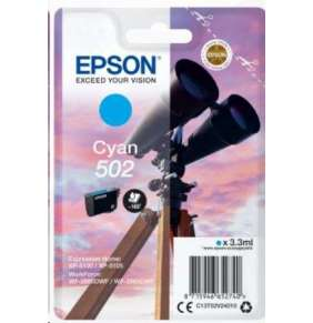 EPSON singlepack,Cyan 502,Ink,standard