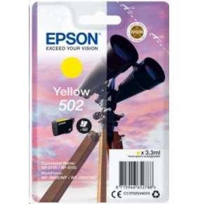 EPSON singlepack,Yellow 502,Ink,standard